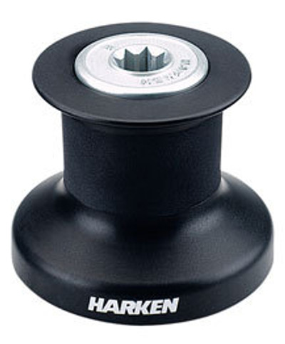 Harken Single Speed Winch with Alum/Composite Base, Drum & Top (B8A)