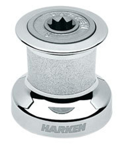 Harken Single Speed Winch with Chromed Bronze Base, Drum & Top (B8CCA)