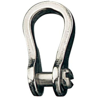 Ronstan Shackle, Narrow, Slotted Pin Head 3/16, L:19mm, W:8mm