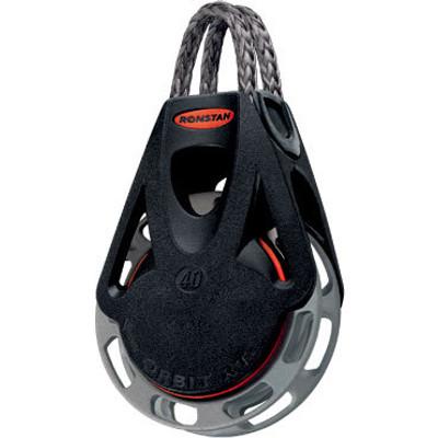 Ronstan Series 40 RTA/RTM OrbitBlock, Auto/Manual, Single, Link Head