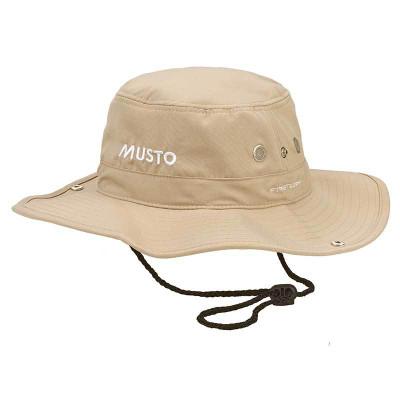 Musto Fast Dry Brimmed Hat (AL1410) Light Stone