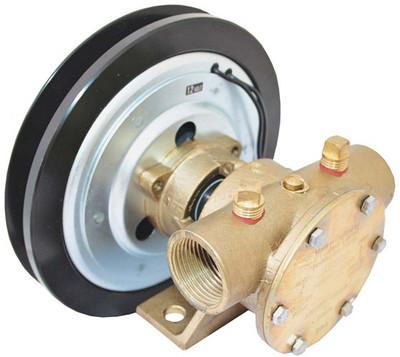 """Jabsco Heavy Duty Bronze Clutch Pump 1"""" - 50080 (J50-140 to J50-143 Jabsco 50080)"""