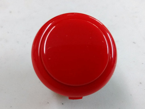 Sanwa Denshi OBSF-30 Solid Colour Snap-In 30mm Pushbutton - Red