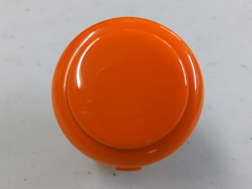Sanwa Denshi OBSF-30 Solid Colour Snap-In 30mm Pushbutton - Orange