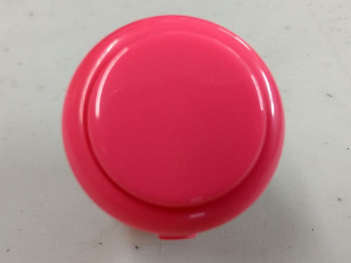 Sanwa Denshi OBSF-30 Solid Colour Snap-In 30mm Pushbutton - Pink