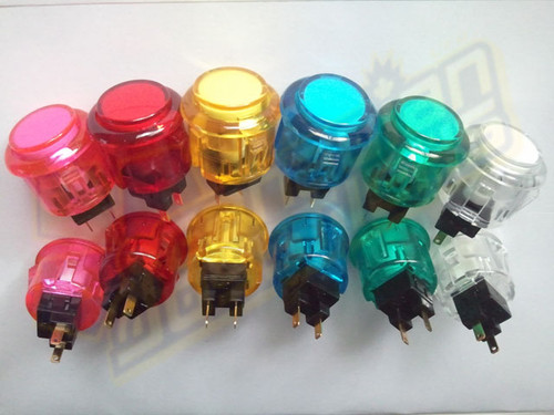Aftermark Convex 24mm Translucent Pushbutton