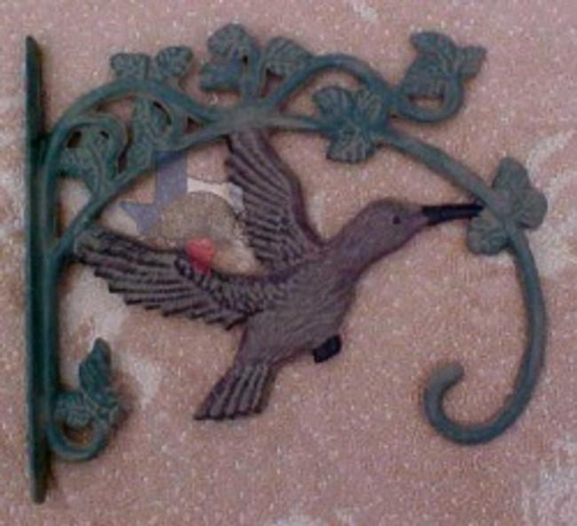 Rustic Hummingbird Plant Hanger