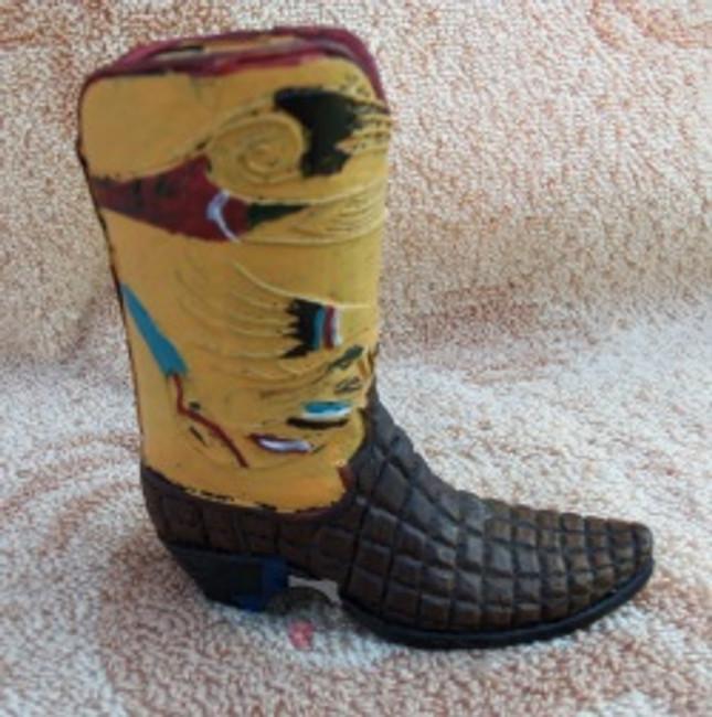D74596B - Western Cowboy Boot