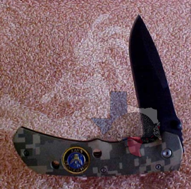 TG13018 - Best Quality Stainless Steel Blade - Navy Camouflage