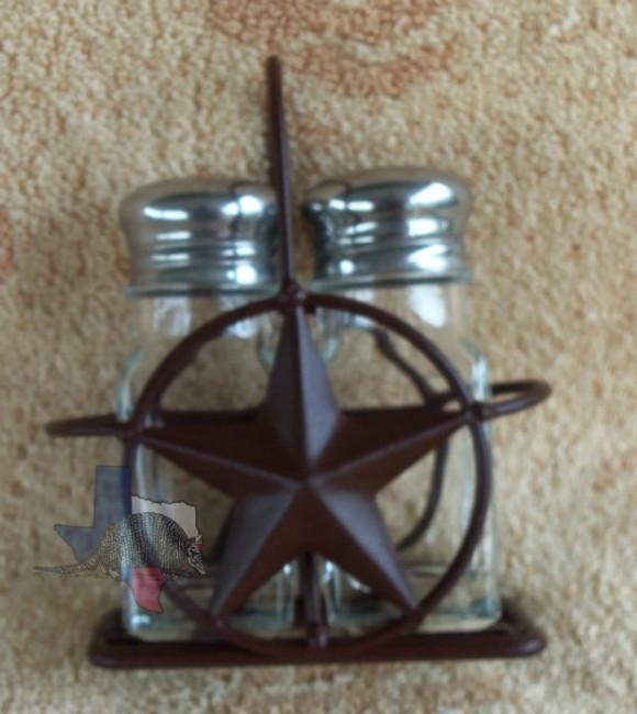 Star Salt & Pepper Holder & Shakers