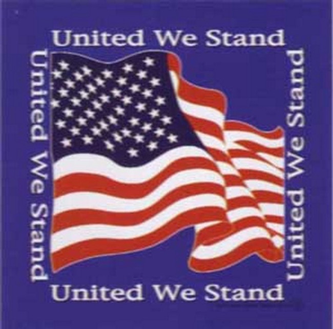 United We Stand Bandana United States