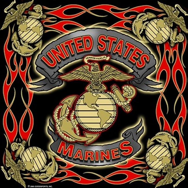 Military Bandanas United States Marine USMC