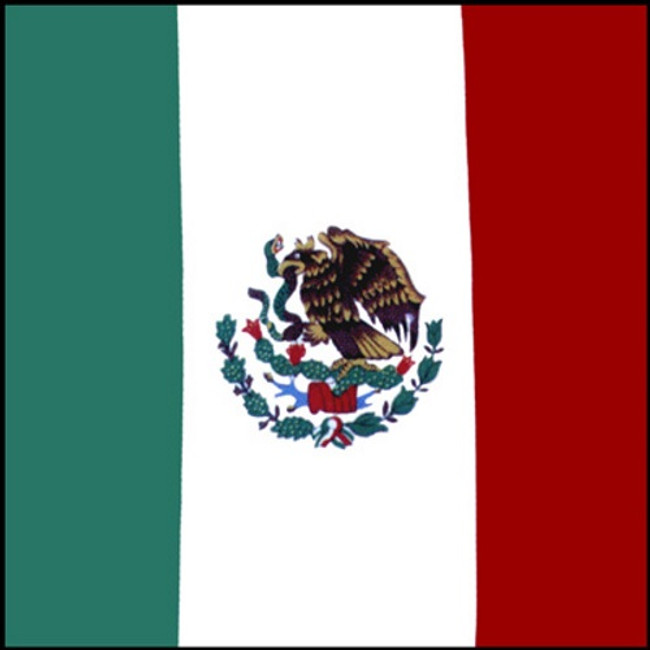 Mexico Flag Bandana