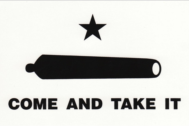 Window Decal COME AND TAKE IT GONZALES FLAG DECAL Texas Decal Car Decal Truck Decal