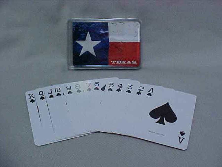 Texas Flag Playing Cards TX2007
