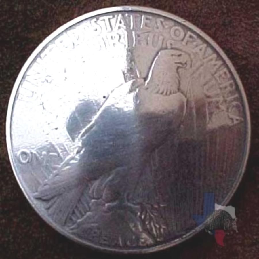 Liberty Peace Coin Conchos