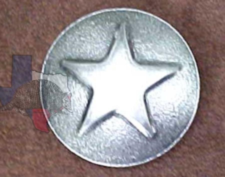 Western Decorative Star Upholstery Tacks & Nails OS Finish