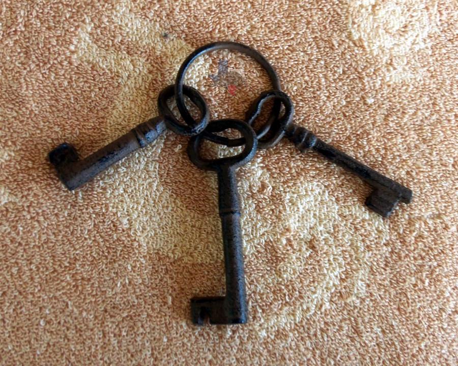 Old West Jail Keys