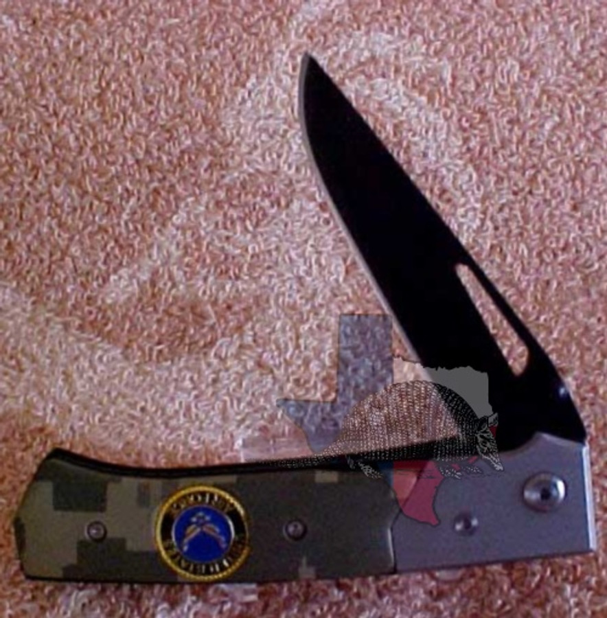 TG13032 - Best Quality Stainless Steel Blade - Air Force Two-Tone Camouflage Gray