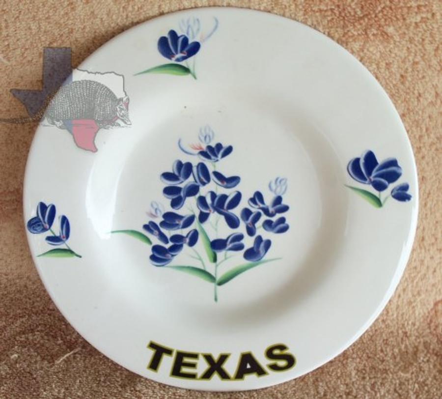 DP31173C  - Western Decor Texas Bluebonnet Plate