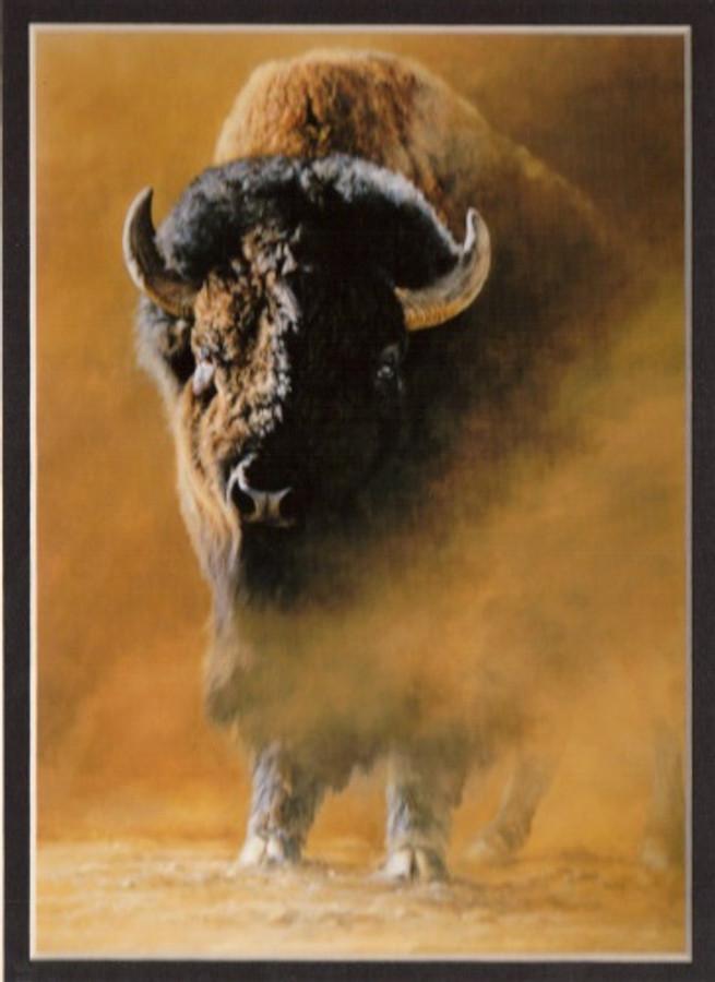 ART-EA-00001  American Bison Print