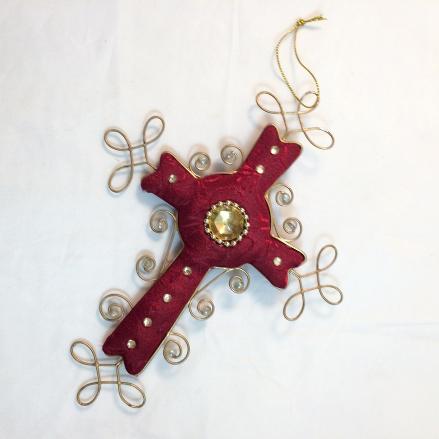 Cross Christmas Tree Ornaments