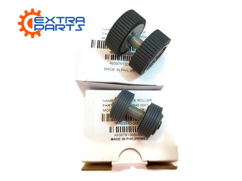 PA03540-0001 PA03540-0002 Fujitsu Scanner Brake and Pick Roller Set FI-6140 FI-6240 FI-6130 FI-6230 FI-6130Z