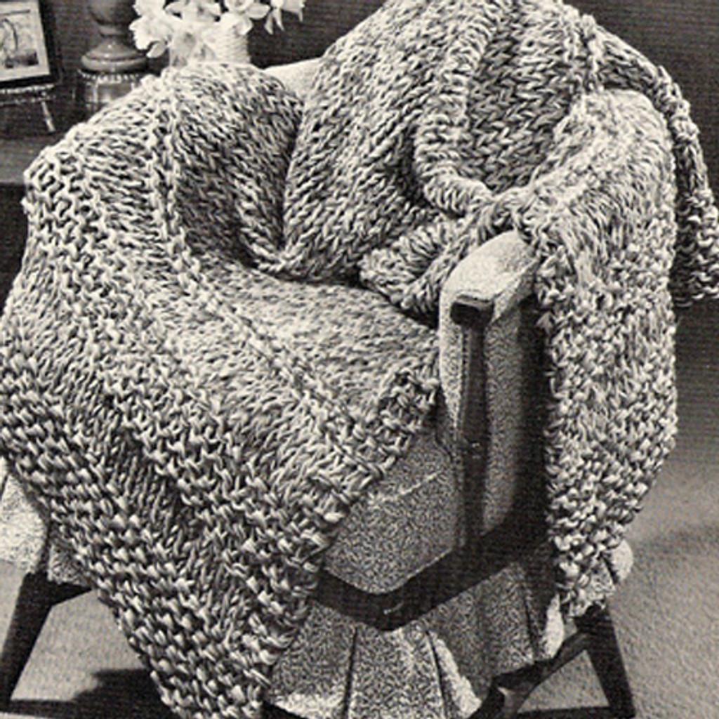Chevron Stripe Afghan Free Pdf Knitting Pattern