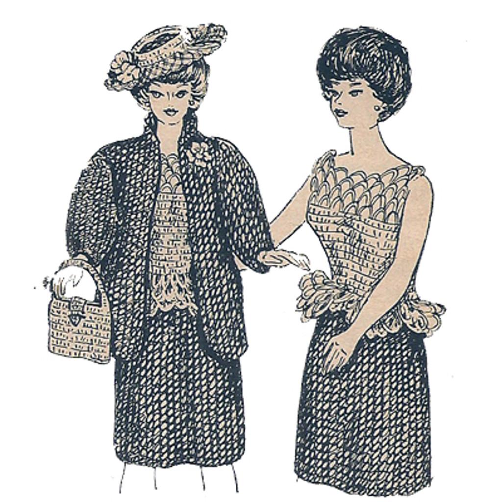 Crochet Doll Wardrobe Pattern
