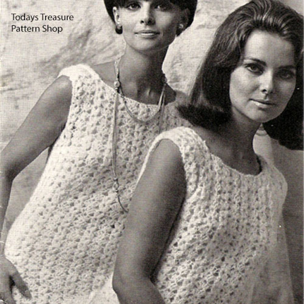 Crochet Shell Top Pattern from American Thread