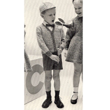 Little Boys Knit Sports Jacket Pattern