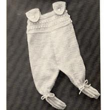 Knit Leggings for Baby