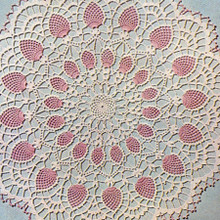 Lily Mills Crocheted Pineapple Doily Pattern