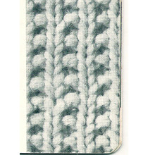 Knitted Pattern Stitch for Dress and Coat