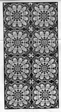 Joined Flower Squares Pattern, Design 7215