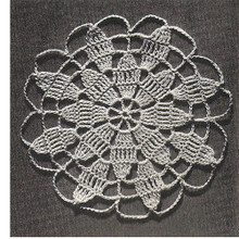 Queen Anne's Lace Medallion Pattern