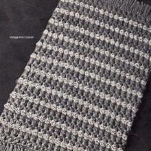 Stripes and Fringe Crochet Rug Pattern