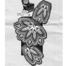 Fern Crochet Doily Chair Set, Mail Order 7209