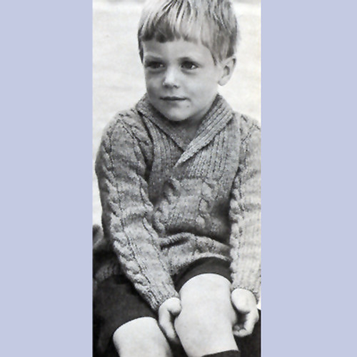 Childs Collared Pullover Knitting Pattern