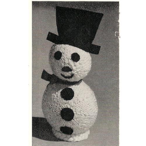 Snowman Doll Free Knitting Pattern