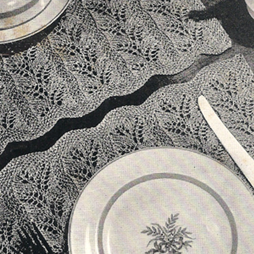 Knitting Pattern for Place Mats