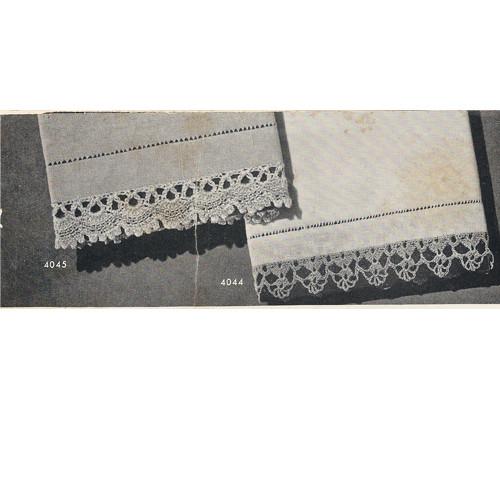 Free Crocheted Shell Edgings Pattern