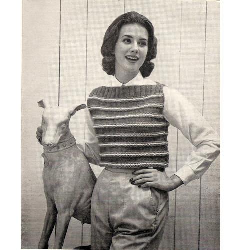Knit Striped Top Pattern
