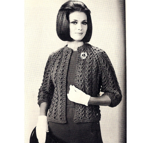 Knitted Two Skein Chanel Jacket Pattern
