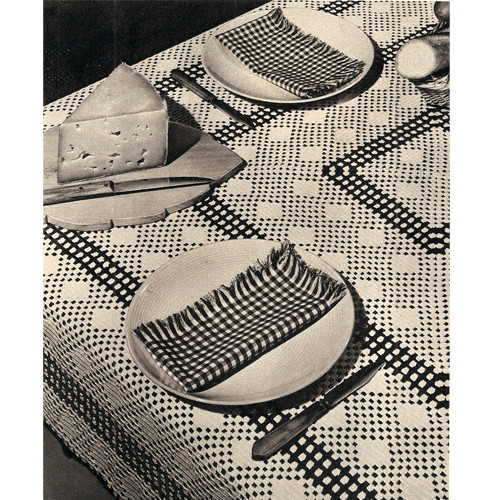 Crochet Tablecloth & Luncheon Set Pattern