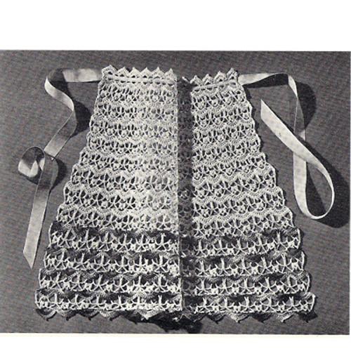 Crochet Lace Shell Apron Pattern