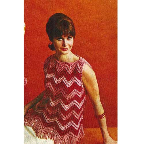 Ripple Crochet Sleeveless Top Pattern
