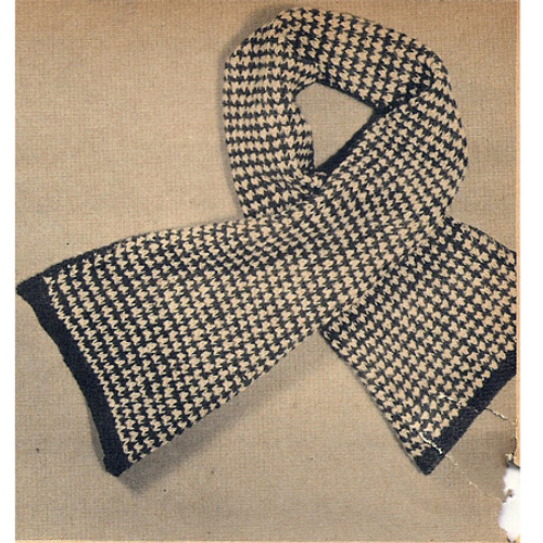 Free Knitted Childs Scarf Pattern