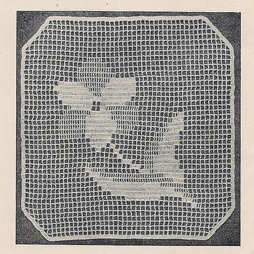 Flower Shadow Filet Crochet, Free Pattern