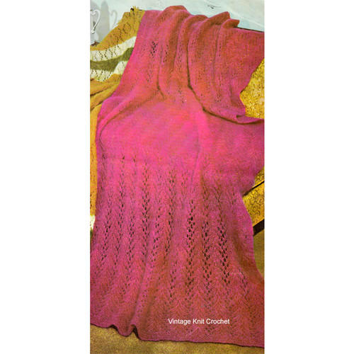 Free Mohair Afghan Knitting Pattern for Beginners